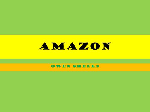 Owen Sheers: Amazon