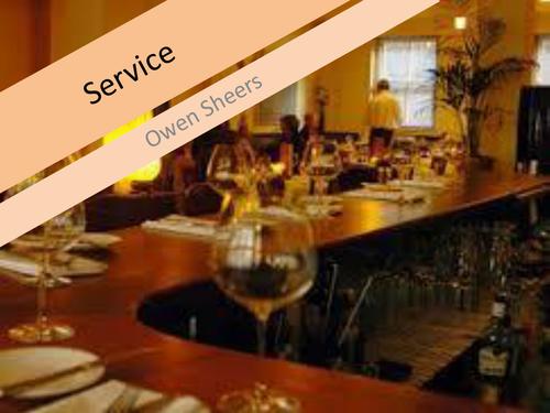 Owen Sheers: Service