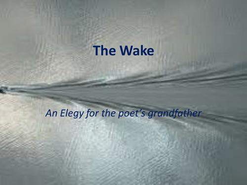 Owen Sheers: The Wake