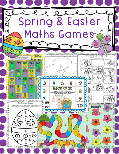 Spring and Easter Maths Games