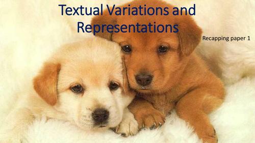 AS Language: Teaching Paper 1, Language and the Individual