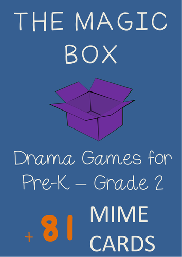 Mime Game : THE MAGIC BOX + Mime Cards