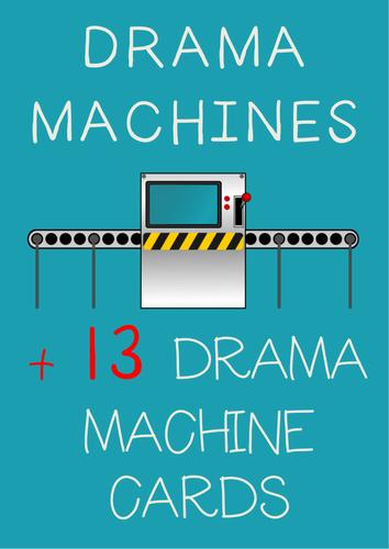 DRAMA MACHINES : Drama Machine Element Cards + Drama Machine Instructions