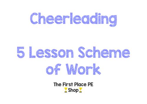 Cheerleading Scheme of Work