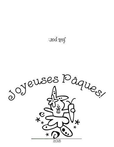 Easter Cards/Cartes de Pâques