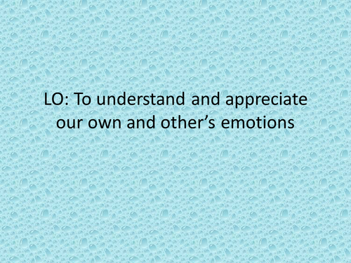 Emotional Literacy Inside out: understanding our emotions