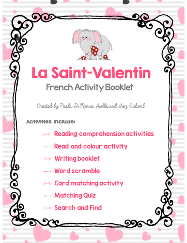 igcse french sample essays tips and translation by  valentine s day french booklet la saint valentin