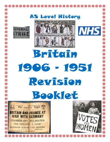 AQA AS History Revision Booklet