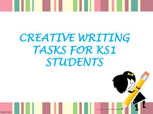 Creative Writing Tasks for KS1 Students