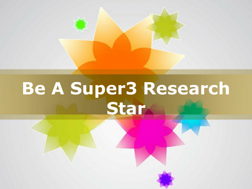 Be A Search Star: 21st Century Research Guide for KS1 & KS2