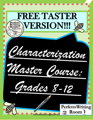 Character Master Course - TASTER FREEBIE