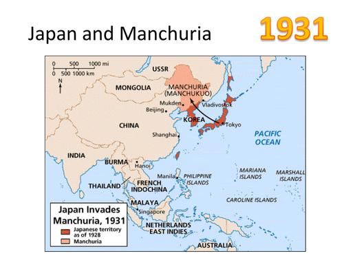 Japan and Manchuria 1931