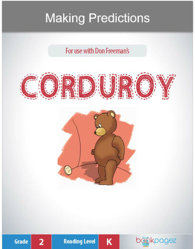 Making Predictions with Corduroy, Second Grade
