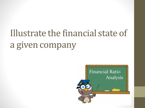 Ratio Analysis / Financial State of a Business. All Ratio's & Limitations of Ratio's