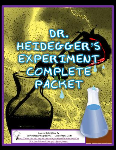 essays on dr heideggers experiment