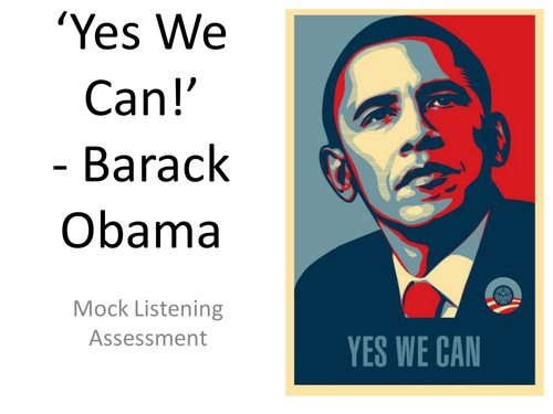 the effective use of repetition and inclusive pronouns in the yes we can speech of barack obama Obama presidential victory speech: change has come barack obama: the amazing moments after the election night victory speech - продолжительность: 8:38 jason obrien 439 591 просмотр.