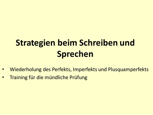 Preschool German resources: prepositions and conjunctions