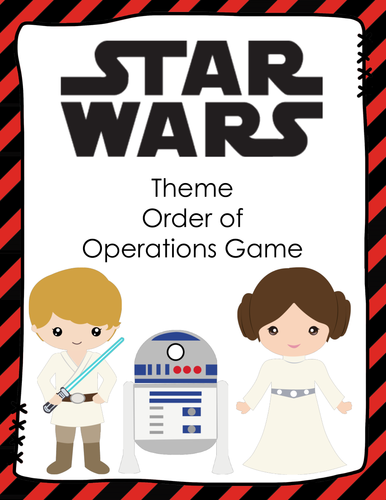 STAR WARS Order of Operations Card Game