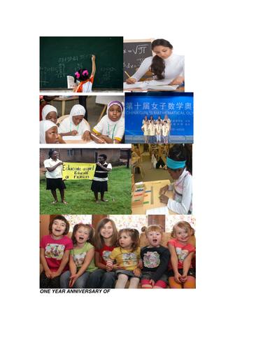 Let Girls Learn: Mathematics