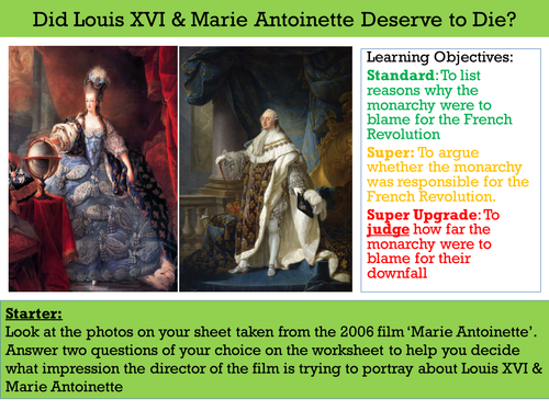 Did Louis XVI & Marie Antoinette Deserve to Die? (French Revolution - Monarchy)