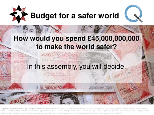 Budget for a safer world: Assembly