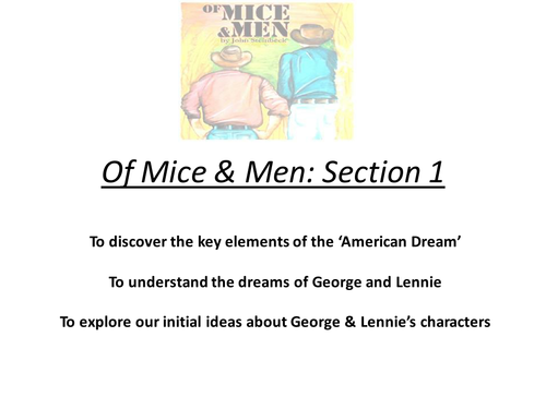 of mice and men 52 essay Many books today are very controversial because people can't seem to agree on whether a certain book has literary merit or not of mice and men by john steinbeck, would fall underneath the category of a controversial novel, in the book themes of frie.