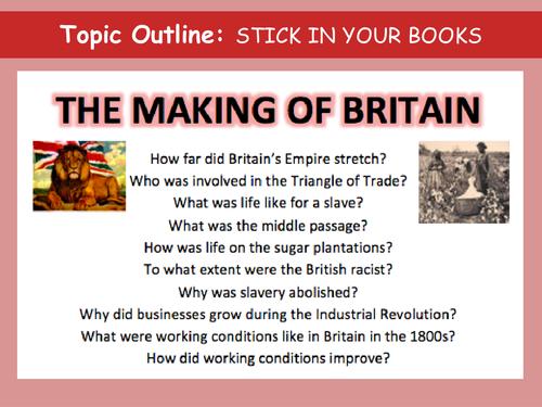 Slavery 7 lesson scheme by LizzieTarpy Teaching Resources Tes – Slavery Worksheets