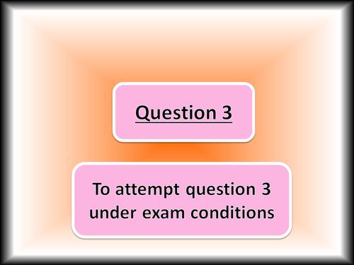 AQA ENG LANG Question 3