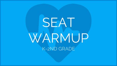 Seat Exercise Warmup | Physical Education Presentation