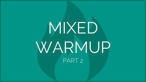 Mixed Exercise Warmup - Part 2 | Physical Education Presentation