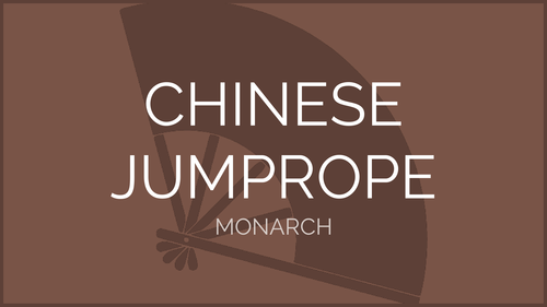 Chinese Jump Rope - Monarch Pattern | Physical Education Presentation