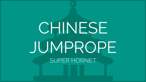 Chinese Jump Rope - Super Hornet Pattern | Physical Education Presentation