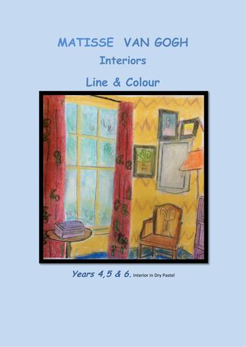 Van Gogh & Matisse  Interiors Line and Colour