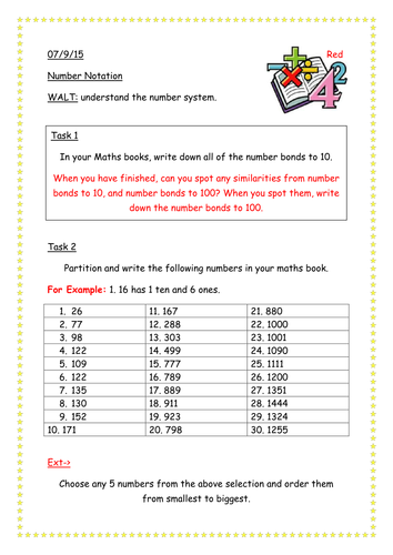 Place Value Worksheets : place value worksheets ks2 tes Place ...