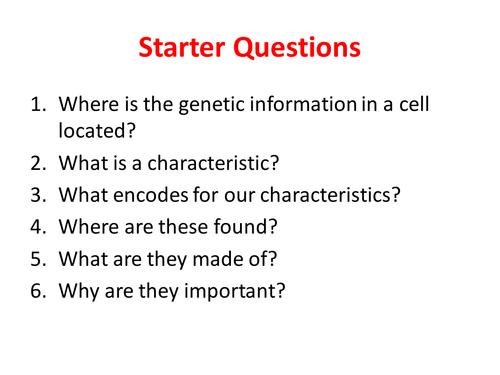 Chromosomes & Mitosis - NEW GCSE