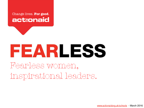 Fearless women, inspirational leaders - assembly & stories