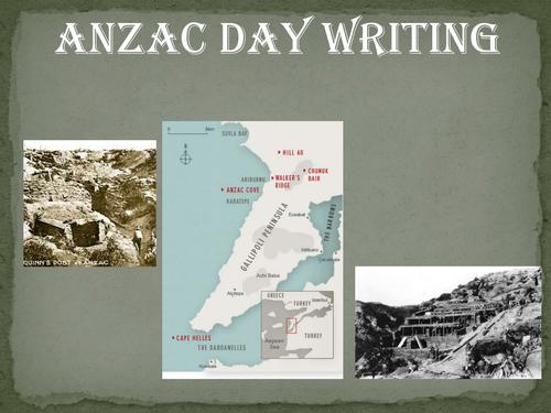 Anzac essay