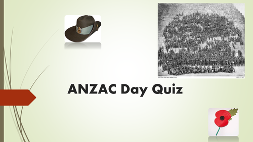 ANZAC Day - Quiz
