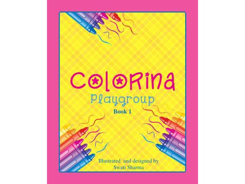 Colorina Playgroup coloring book