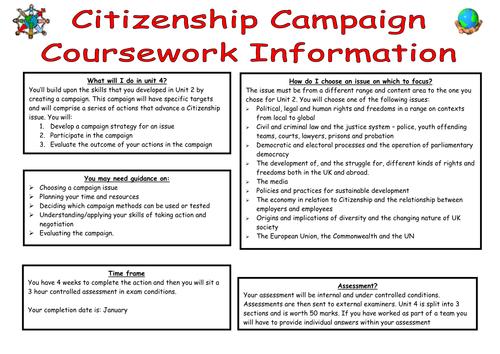 Contemporary Citizen Coursework