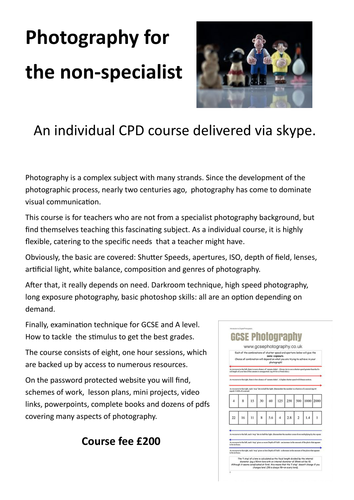 Photography CPD