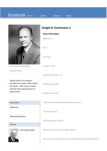 Eisenhower Facebook Page