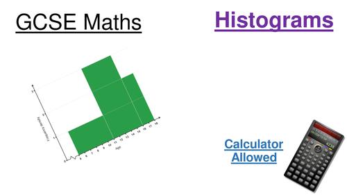 GCSE Maths (9-1) Histograms