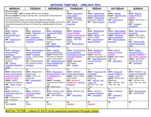 Timetable Maths Worksheets worksheet 644409 ks2 maths sats – Ks2 Maths Sats Revision Worksheets