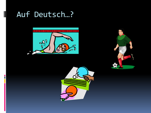 German Word Order through Football