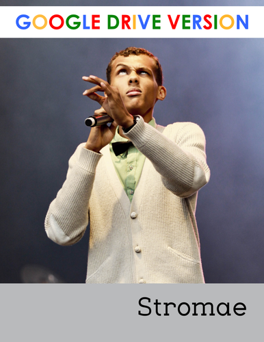 Stromae - a short reading for intermediate students - Google Drive version