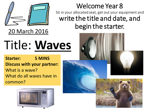 KS3 Light, Sound and Waves Whole Topic