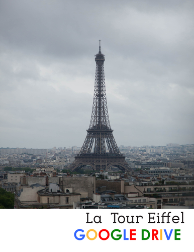 La Tour Eiffel - reading for beg/int French students - Google Drive edition