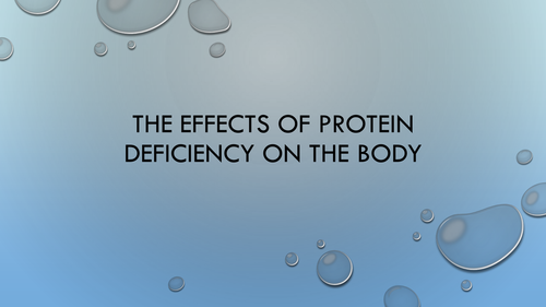 Protein - deficiency problems and current information on gluten  AQA Food Technology Question 1 2016