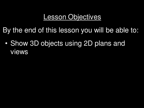 2D views of 3D objects